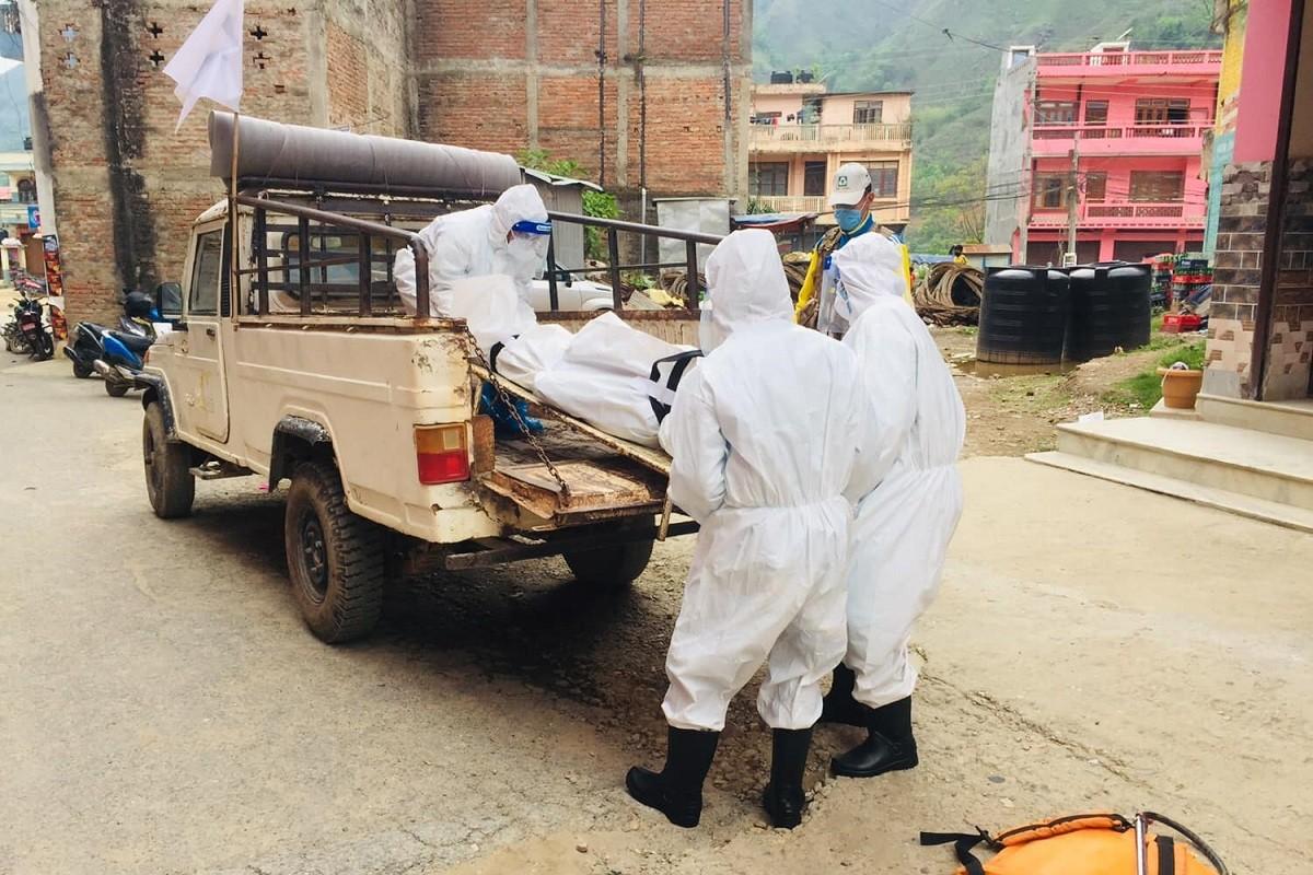 स्याङ्जामा थप १९ कोराना संक्रमितको मृत्यु; स्थानीय भोजभतेरमा, भेन्टिलेटर स्टोरमा